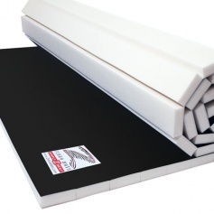 Home Roll Out Mats For Exercise Amp Training Zebra Mats Canada